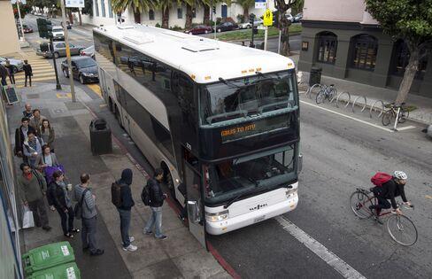 Google Bus to Mountain View