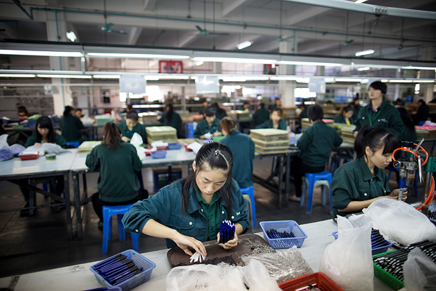 china 39 s female factory workers face widespread sexual harassment bloomberg. Black Bedroom Furniture Sets. Home Design Ideas