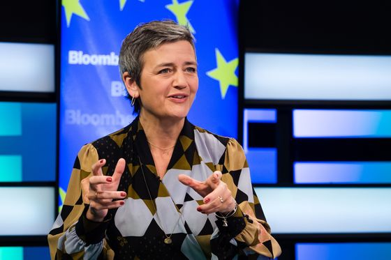 Apple Takes on EU's Vestager in Record $14 Billion Tax Fight
