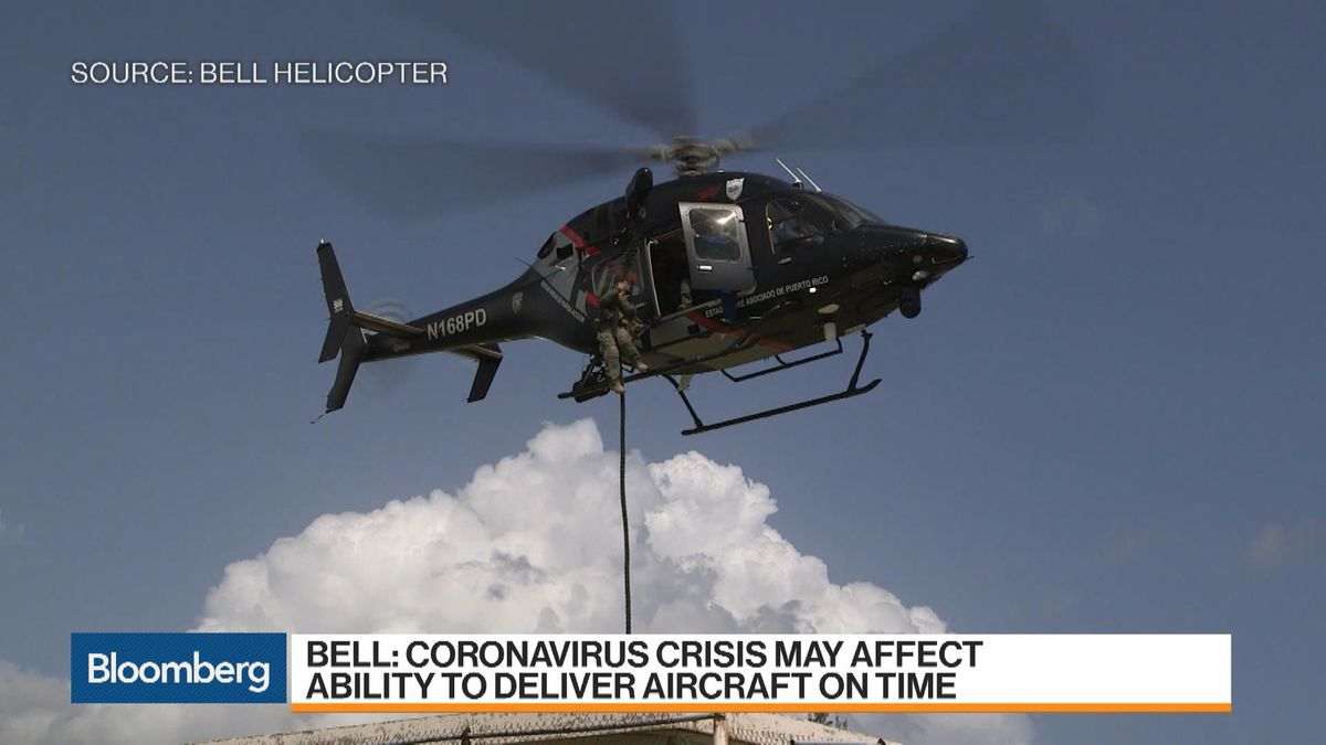 Helicopter Sales Coronavirus Outlook Discussed By David Sale Of