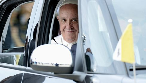 Pope Francis Arrives To Washington, D.C. From Cuba