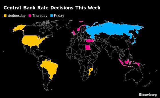 Global Central Banks Confront Enthusiasm of Investors: Eco Week