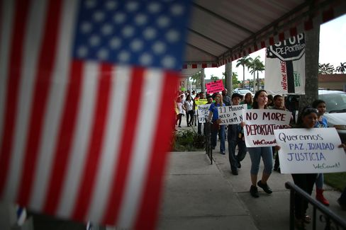 Immigration Rally in Florida