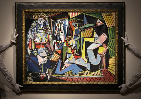 "Pablo Picasso's ""Les Femmes d'Alger (Version 'O')"" sold for a record $179.4 million."