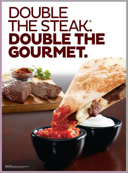 Steak Quesadillas Seen Lifting Yum's Taco Bell Rebound