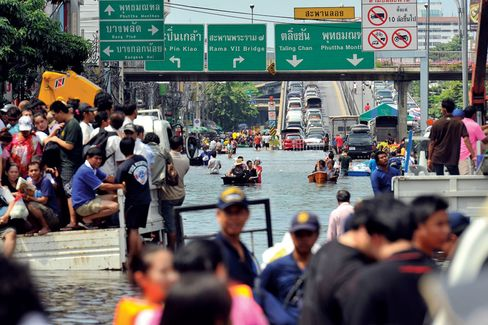 A Costly Flood in Thailand