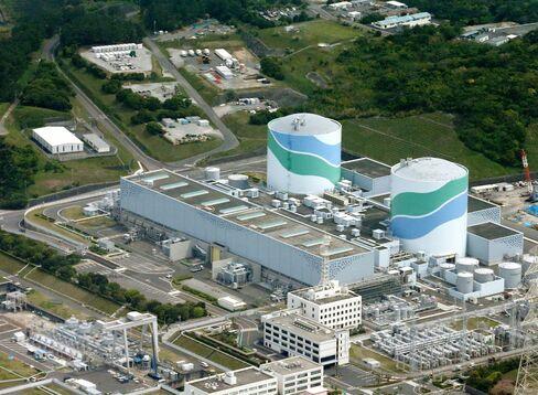 Kyushu Electric Nuclear Plant in Satsumasendai
