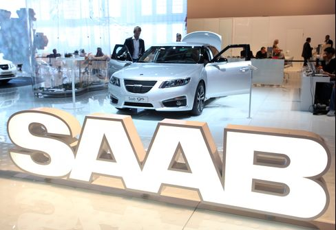 Spyker Drops as Saab Production Goal Cut, Loss Widens