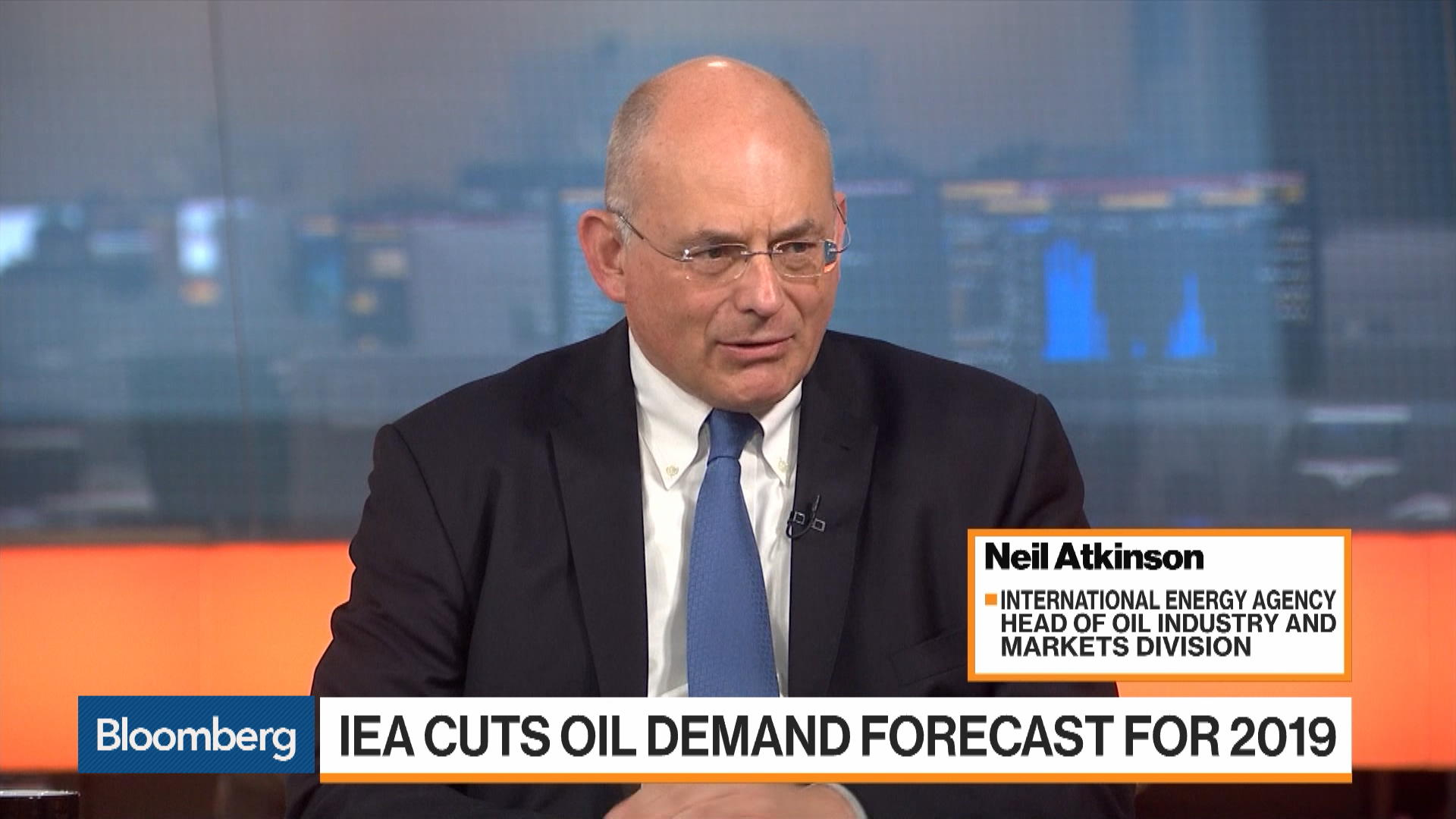 IEA Head of Oil Industry and Markets Division Neil Atkinson on Oil Demand, Markets, Saudi Attack