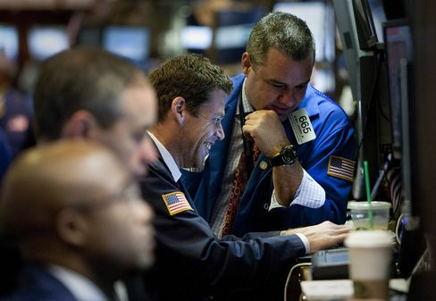 Stocks Advance on U.S. Data