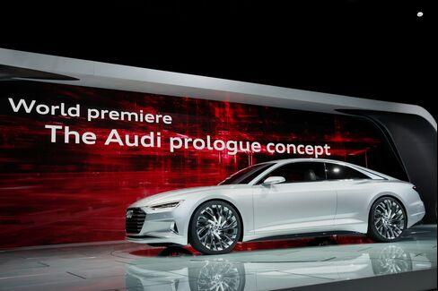 Audi AG Prologue Concept Vehicle