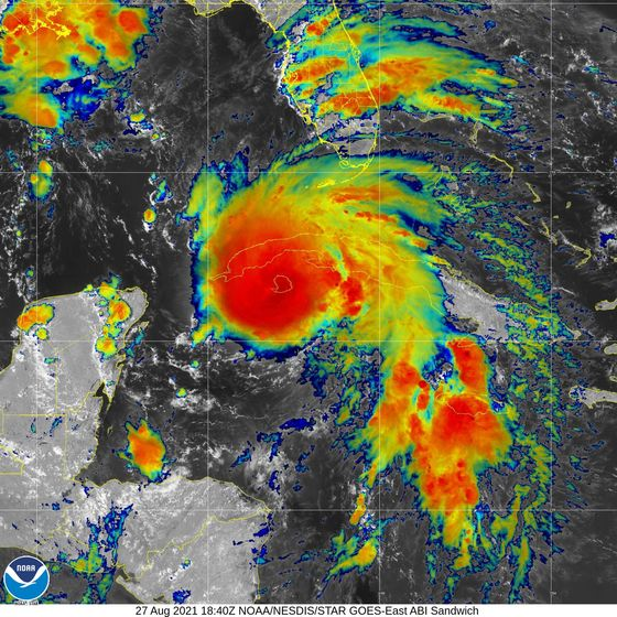 Ida Threatens to Intensify Rapidly Upon Approach to New Orleans