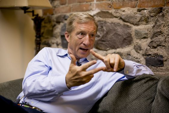 Trump Nemesis Steyer Locked in Messy Fight Over Clean Power