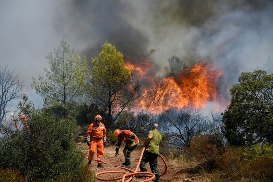 Wildfires Burnin France and Spain After Scorching Heatwaves