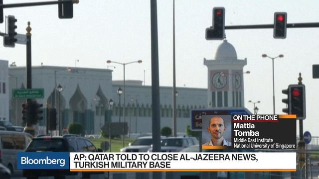 Arab states demand Qatar close Al Jazeera, shutter Turkish base