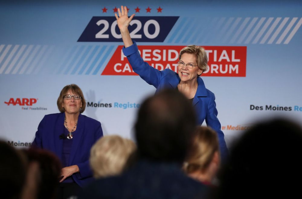 Warren Outshines Biden in Race to Build Iowa 2020 Ground Game