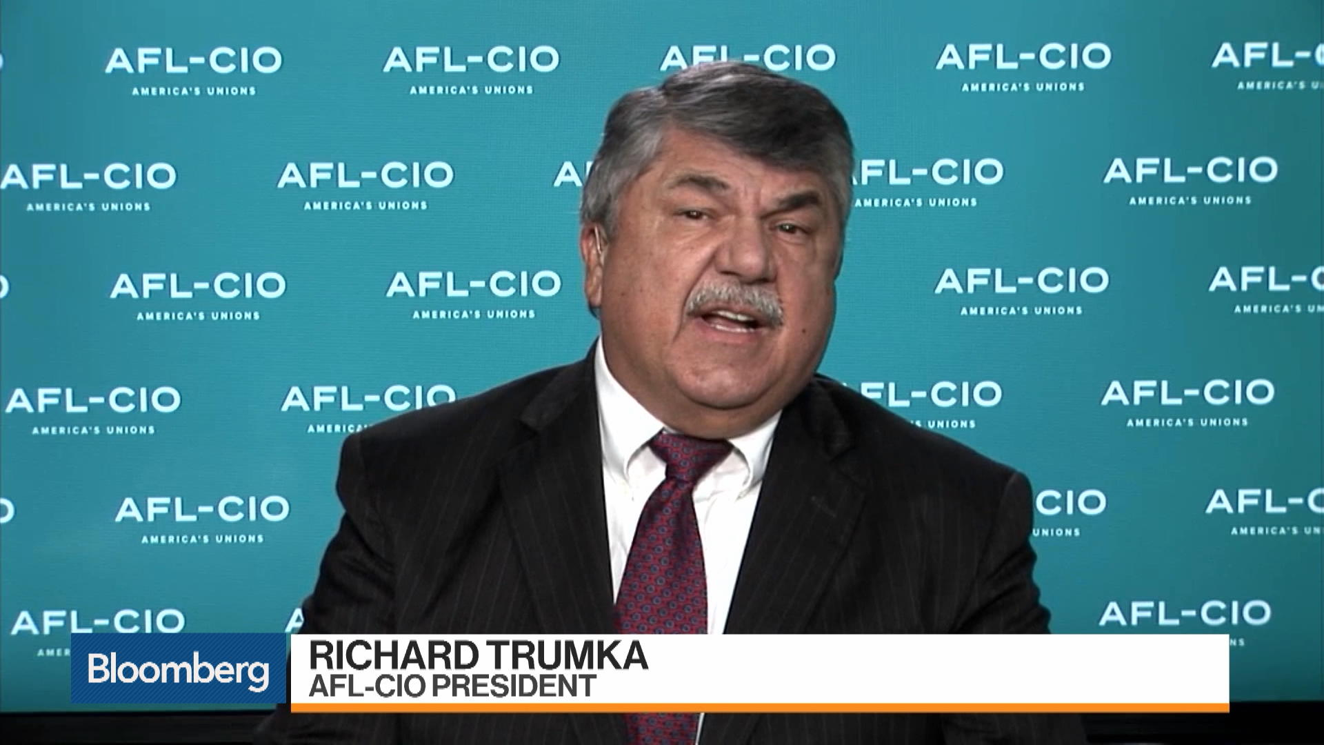 USMCA Is Totally Unenforceable, AFL-CIO President Trumka Says