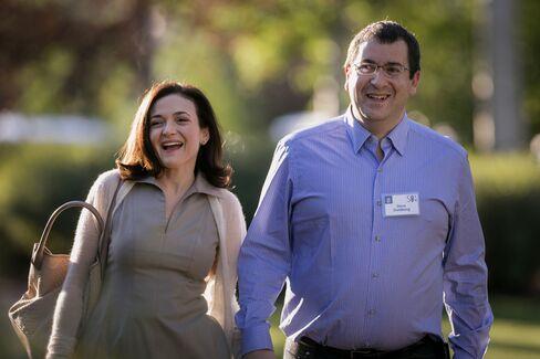 Faceboook COO Sheryl Sandberg & SurveyMonkey CEO Dave Goldberg