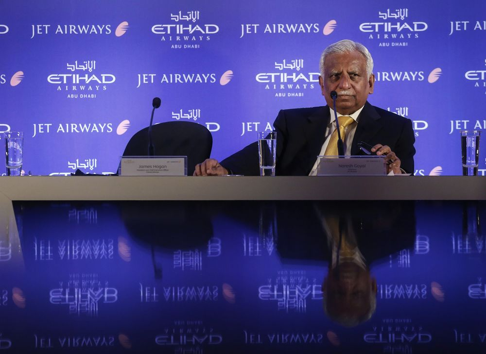 Former Jet Air Chairman Goyal Blocked From Overseas Travel: PTI