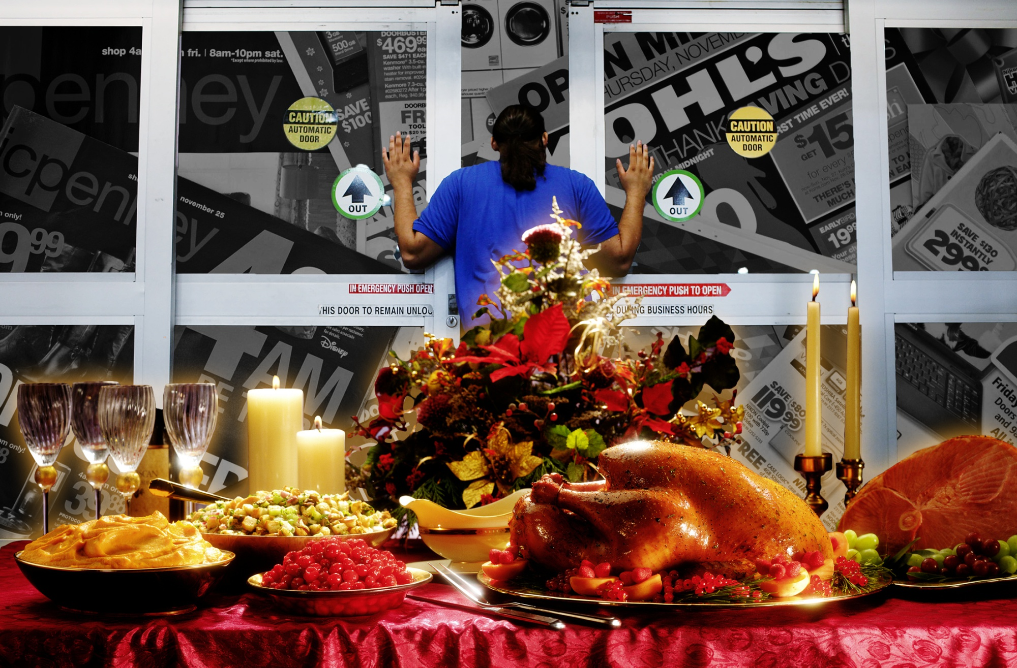 How Black Friday Became America S Greediest Holiday Bloomberg