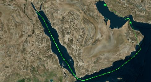 From Iran to Suez