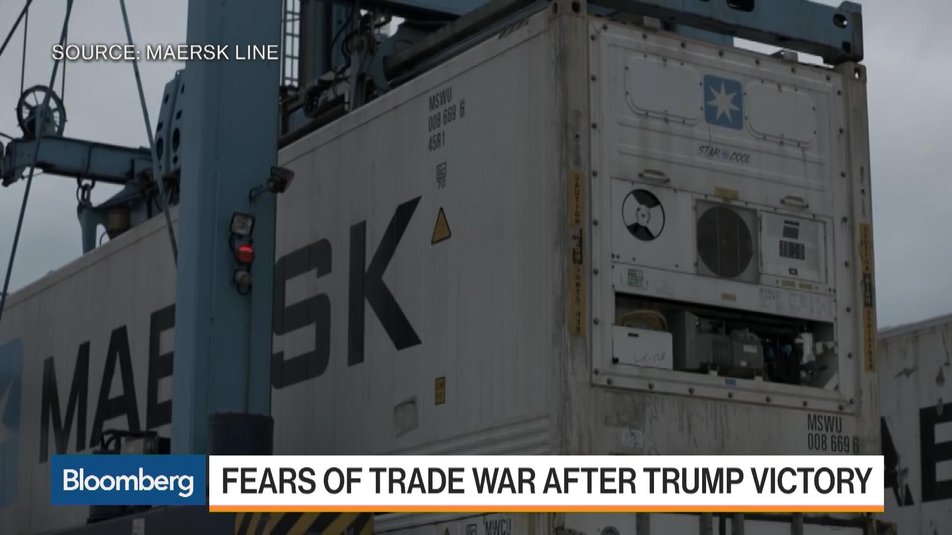 Maersk Line APAC CEO: Container Shipping Still in Trouble - Bloomberg