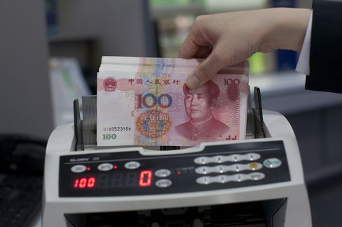 China Yuan Reference Rate Declines Most Since August 2010