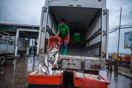 Collapse in Myanmar Seafood Exports Puts 1 Million Jobs At Risk