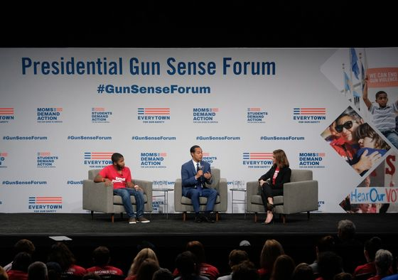 In Iowa, 2020 Democrats Vow to Take on NRA, Address Gun Safety