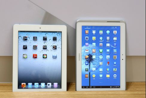 Apple Loses U.K. Appeal Over 'Not as Cool' Samsung Galaxy Tablet