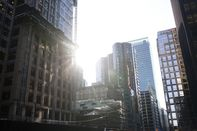 Toronto's Financial District As Stock Market Bloodbath Kept At Bay In Canada With Gold Rally