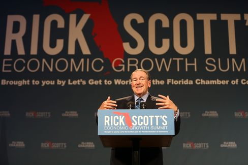 GOP Presidential Candidates Address Economic Growth Summit In Orlando