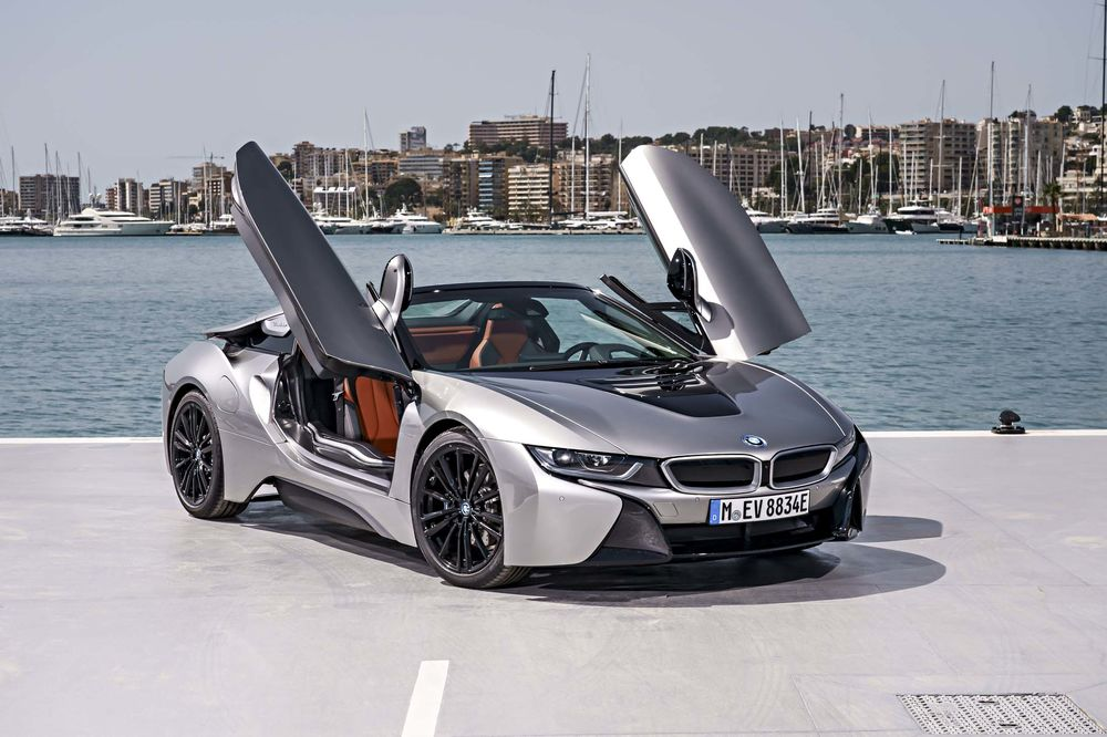 Bmw I8 Roadster Review The Practical Plug In Hybrid Convertible