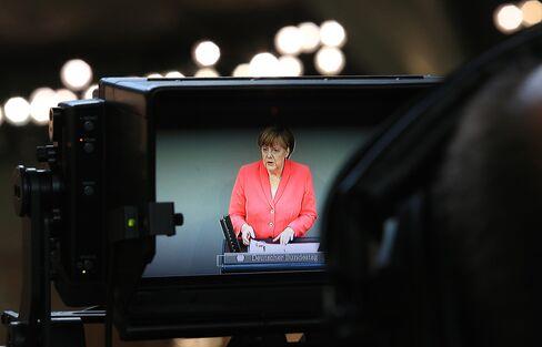 German Lawmakers Vote On Greek Bailout Negotiations
