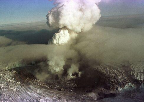 1996 Eruption in Iceland