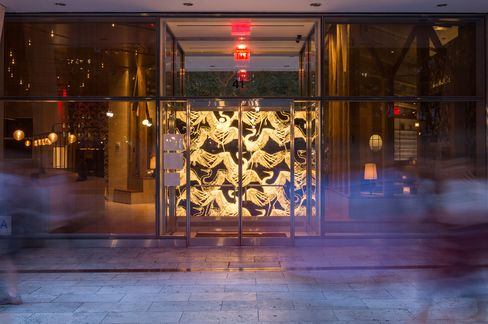 The restaurant opened in June in midtown Manhattan, just next to Bryant Park.