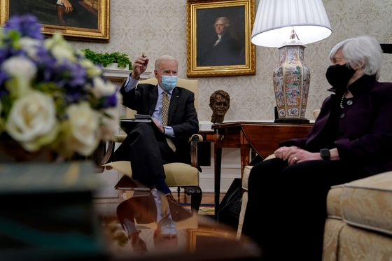 Yellen Doesn't See Biden Plan Creating Inflation 'Issue'