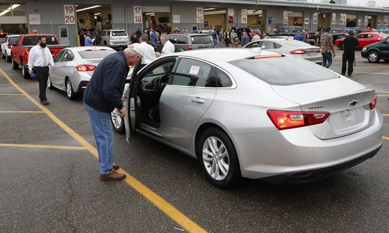 Fear of an Impending Car-Price Collapse Grips Auto Industry