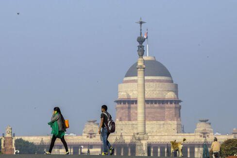 The Presidential Residence in New Delhi, India