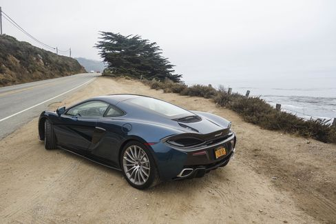 Top speed on the 2017 McLaren 570GT is more than 200 mph.