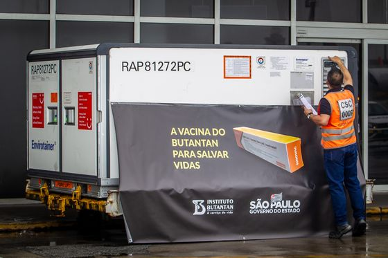 Sao Paulo Sets First Date in Latin America to Start Vaccinations