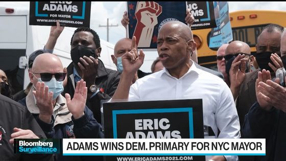 NYC's Adams Casts Himself as Mayor-in-Waiting, Vows Turnaround