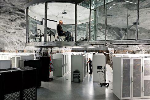 Bahnhof's Office Bunker