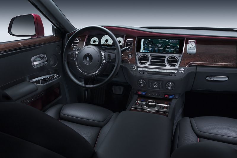 rolls royce ghost black interior. the interior of rollsroyce ghost is intricate with plenty knobs and rolls royce black t