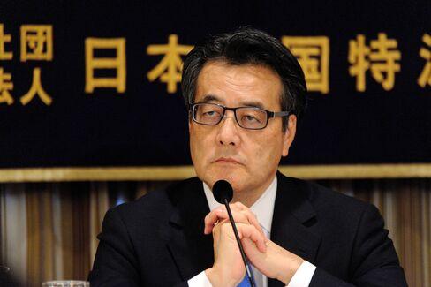 DPJ President Katsuya Okada