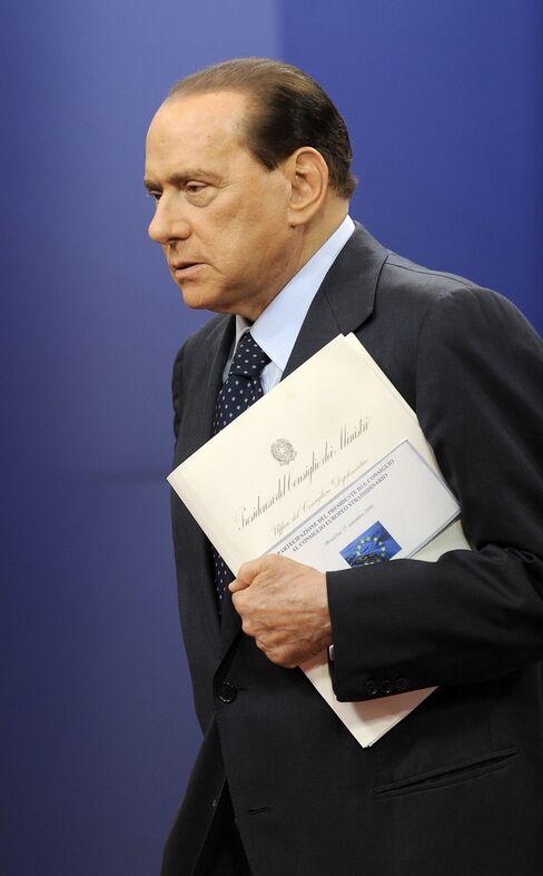 Silvio Berlusconi, Italy's prime minister