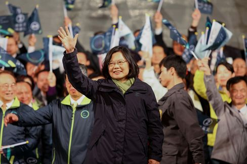 Taiwanese Head To The Polls For Presidential Election