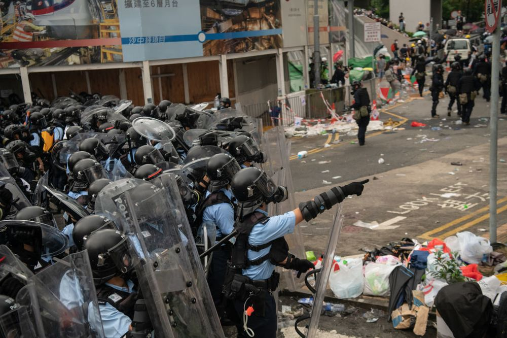 984b732a31 Hong Kong Protests Show the Limits of Economic Freedom - Bloomberg