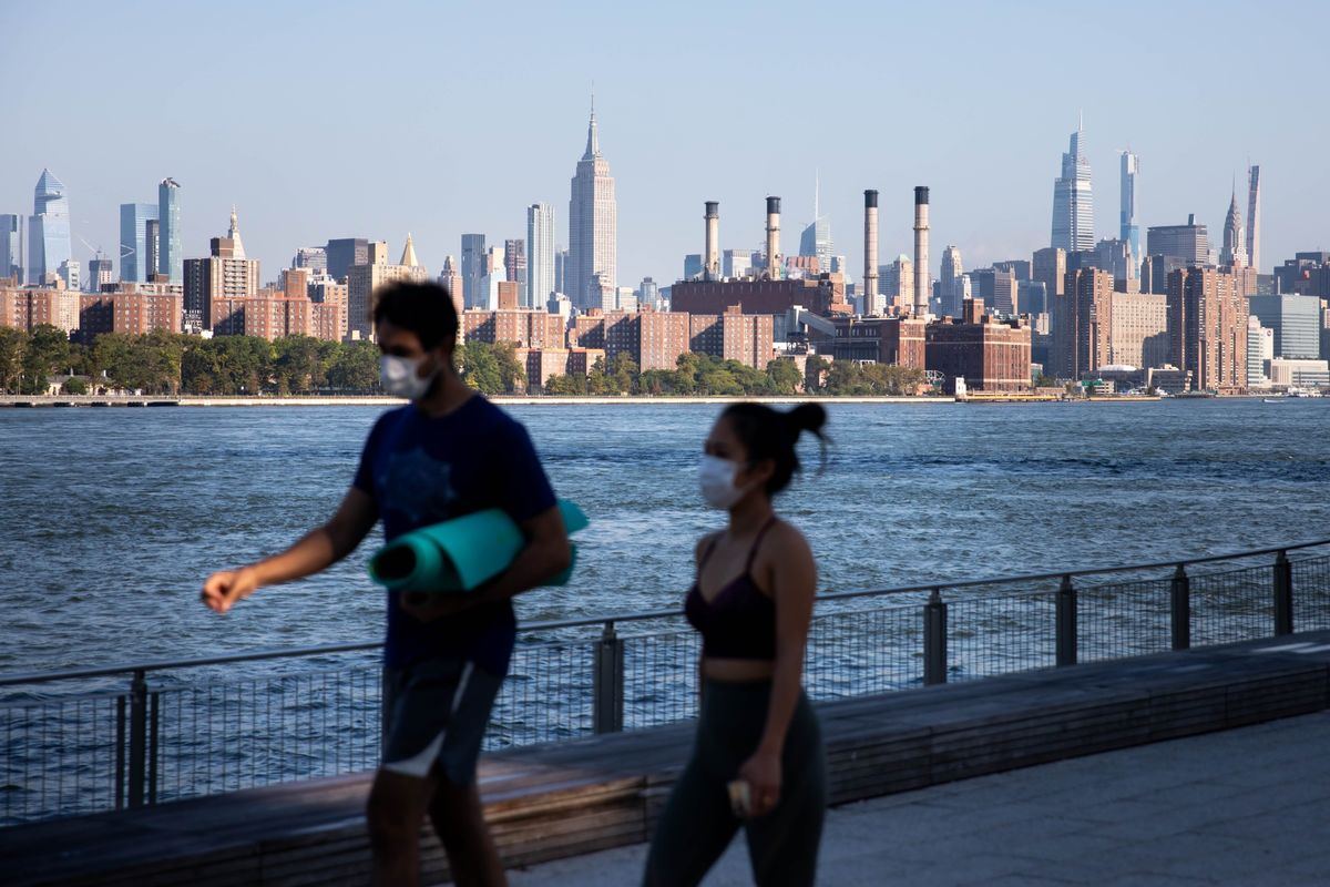New York City Prepares for a Second Wave With a Chance to Blunt the Worst – Bloomberg