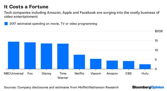 Apple and Amazon Don't Need to Buy Hollywood